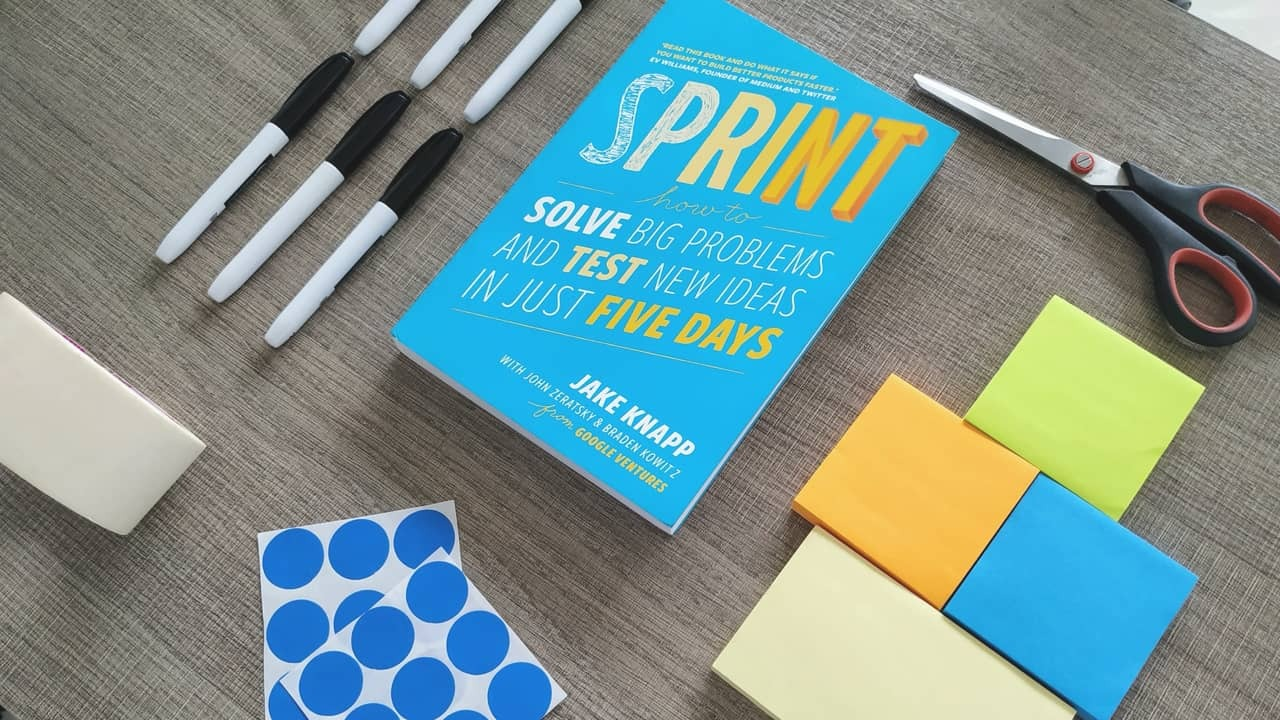 Use design sprints to generate new ideas