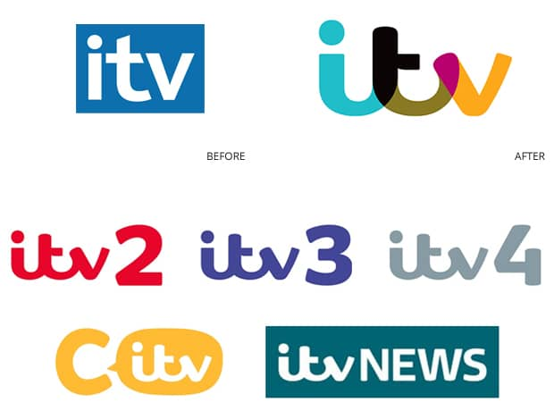 ITV's new brand identity and architecture